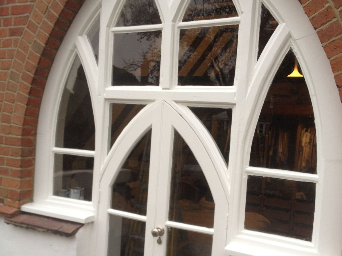 Gothic Windows - After Repair
