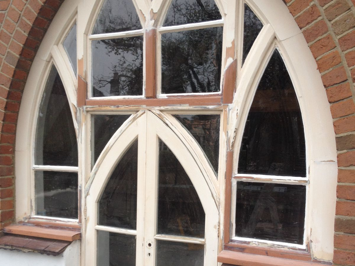 Gothic Windows - Repair Prep