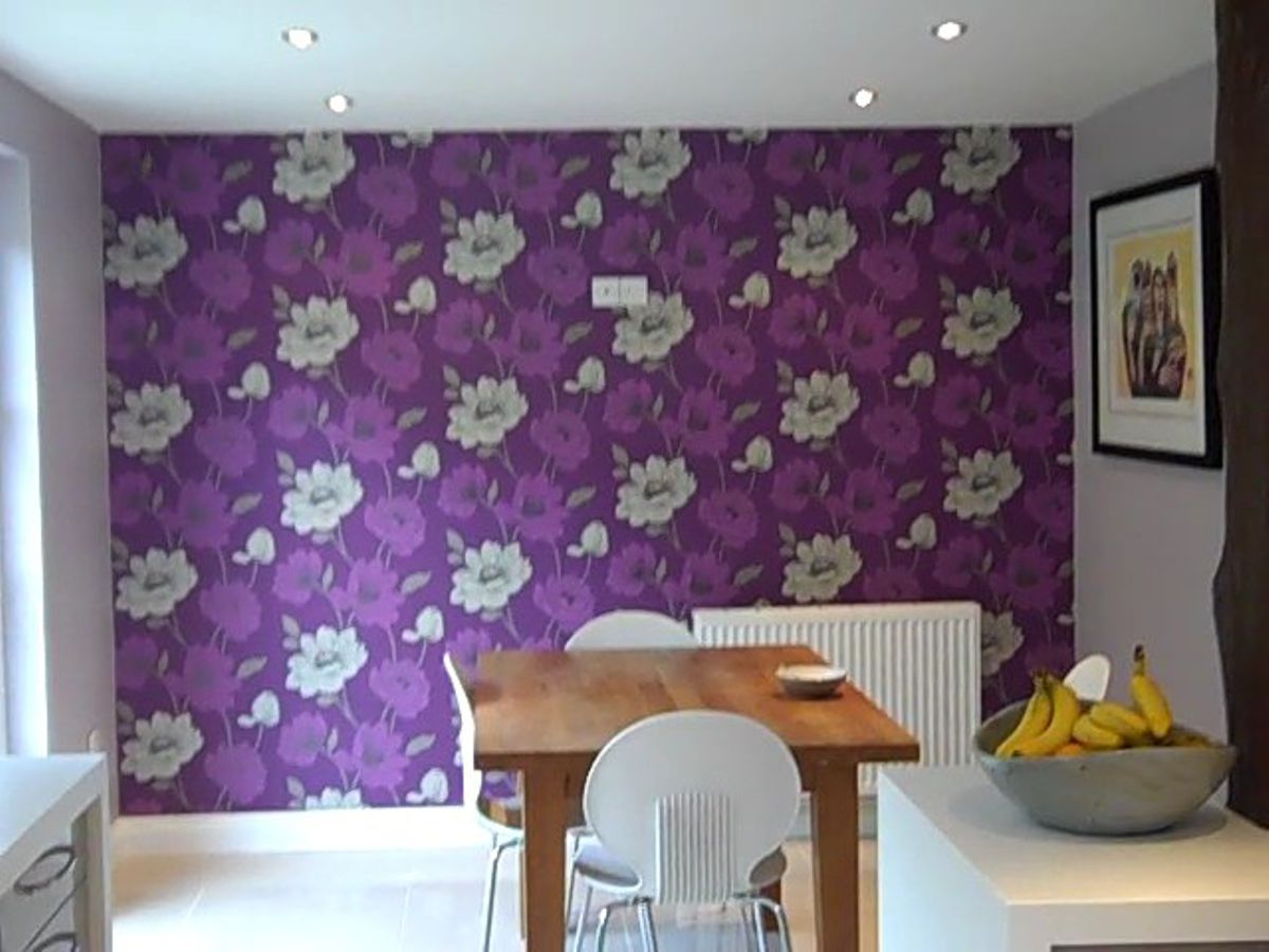 Kitchen Diner Wallpaper and Paint