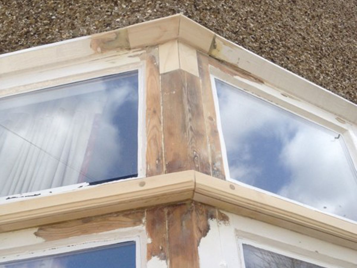 Window Frame Repairs with infills